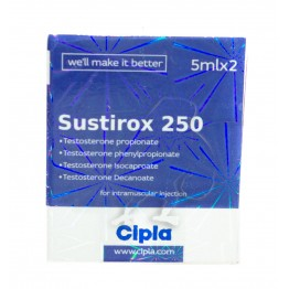 SUSTIROX 250  Cipla ( 10 ml) годен до  07.19.